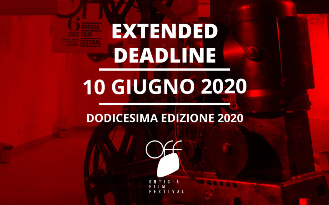 Deadline for submitting applications has been extended to 10 June 2020